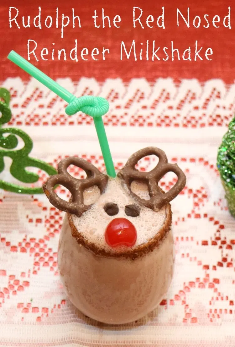 A Reindeer Milkshake