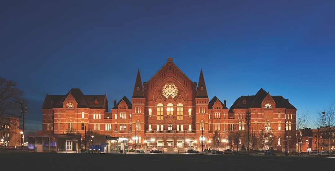 Cincinnati Music Hall At Night