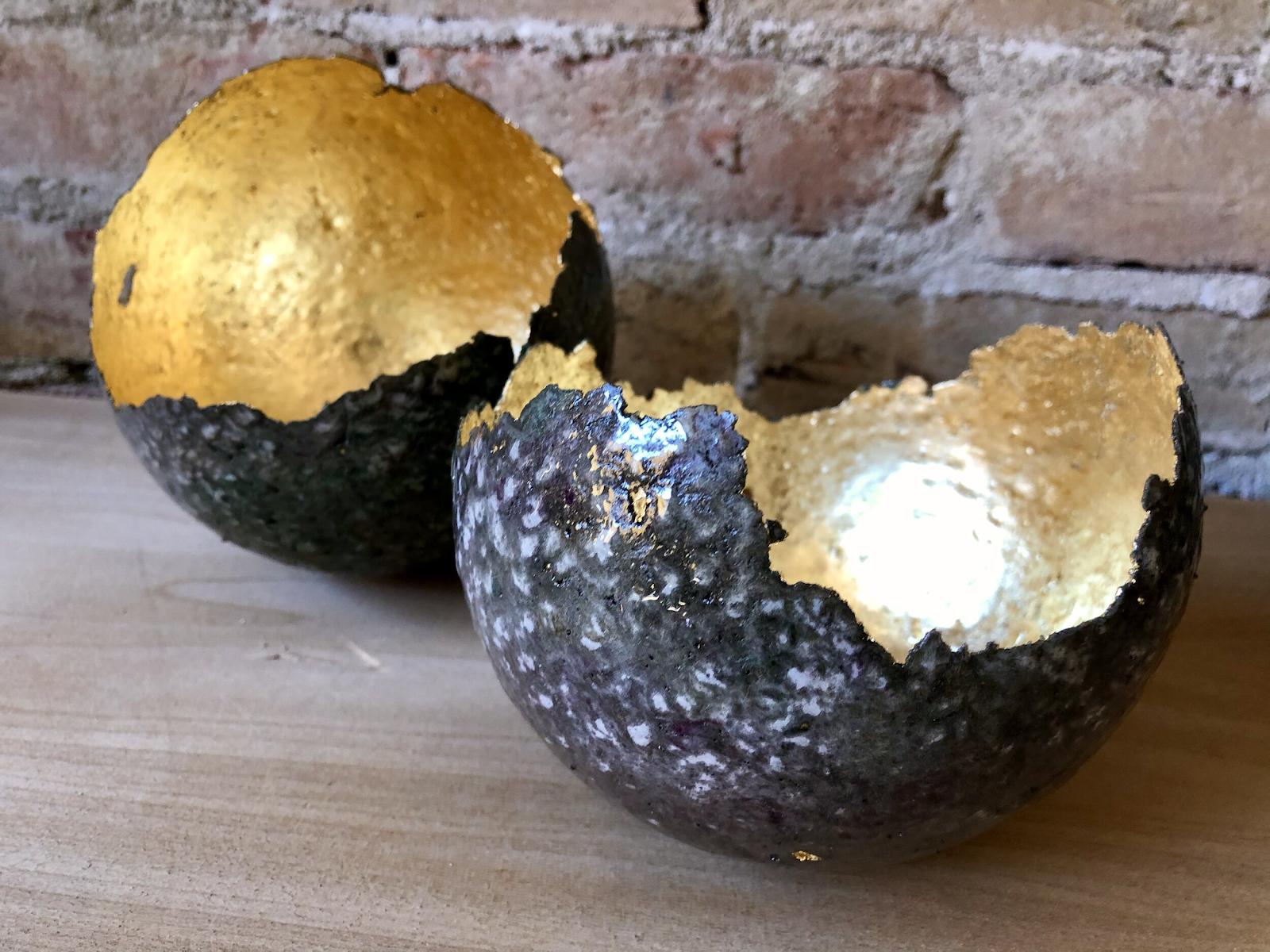 An Egg Sculpture