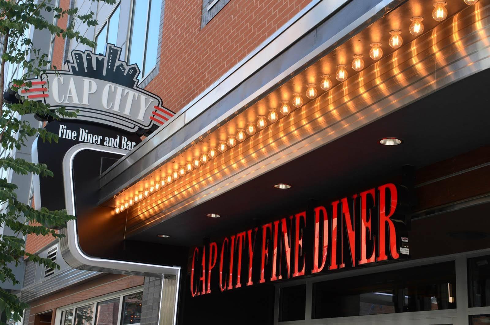 Cap city Diner Exterior