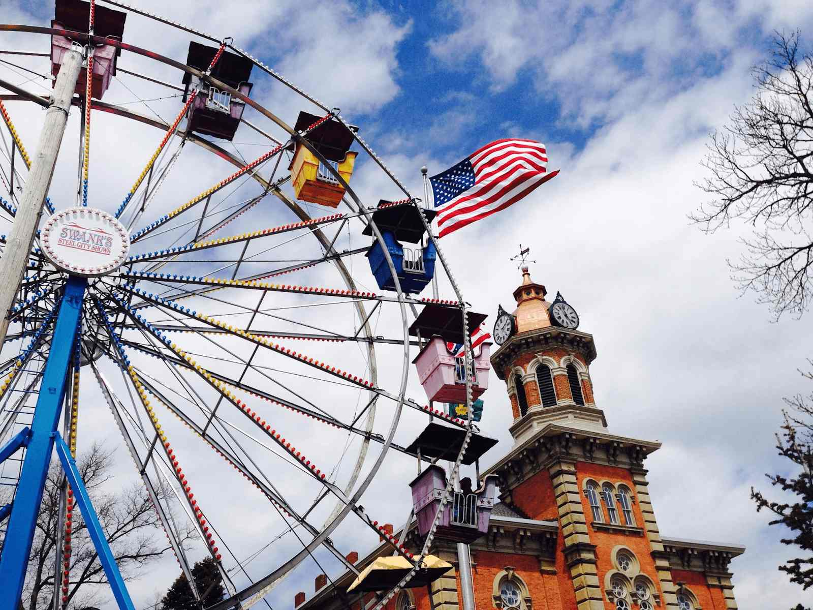 Ferris wheel in Geauga County Maple Festival
