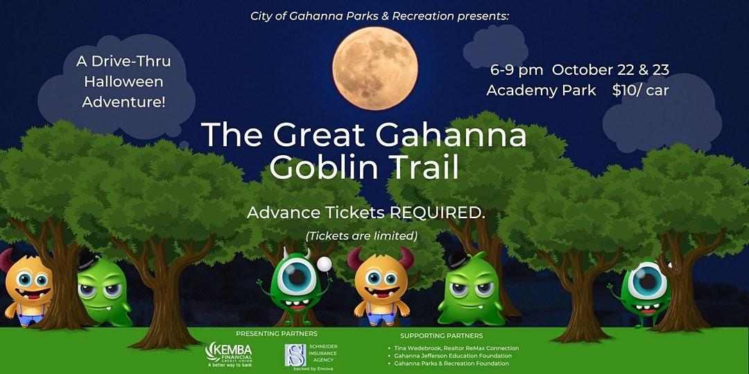 Great Gahanna Goblin Trail Flyer