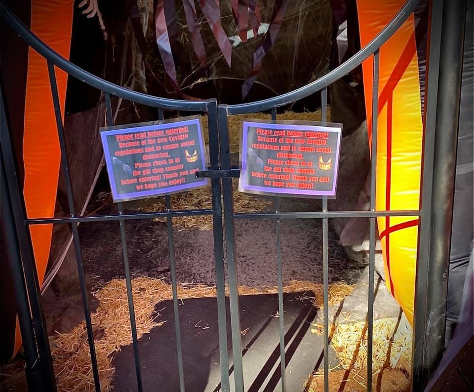 Haunted Maze at Hoover Gardens