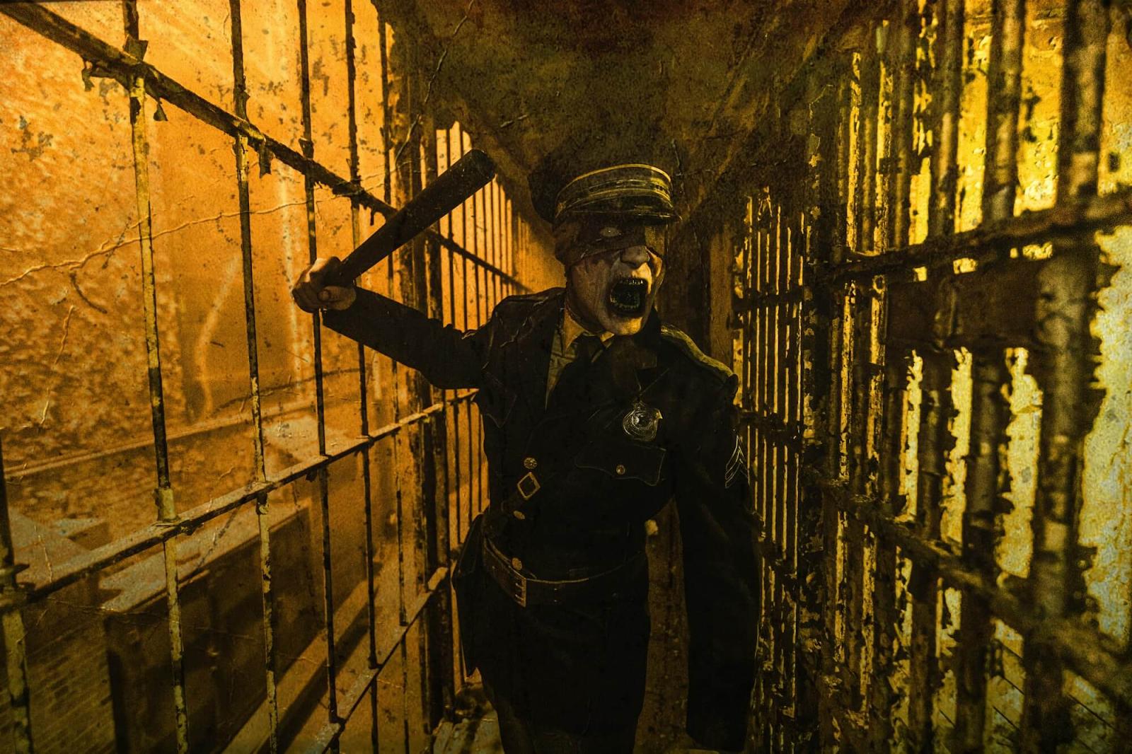 scary prison guard
