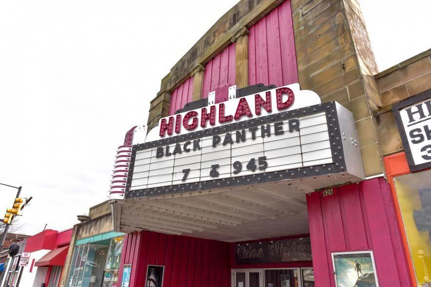 Highland movie theater