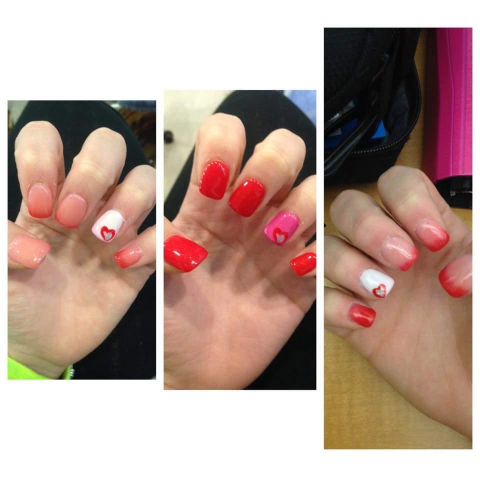 three nail examples