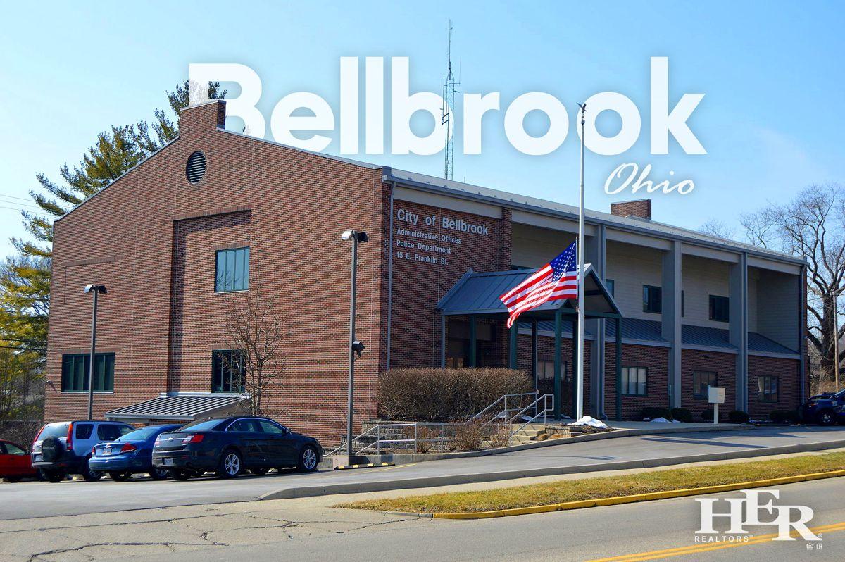 peaceful stream in bellbrook ohio