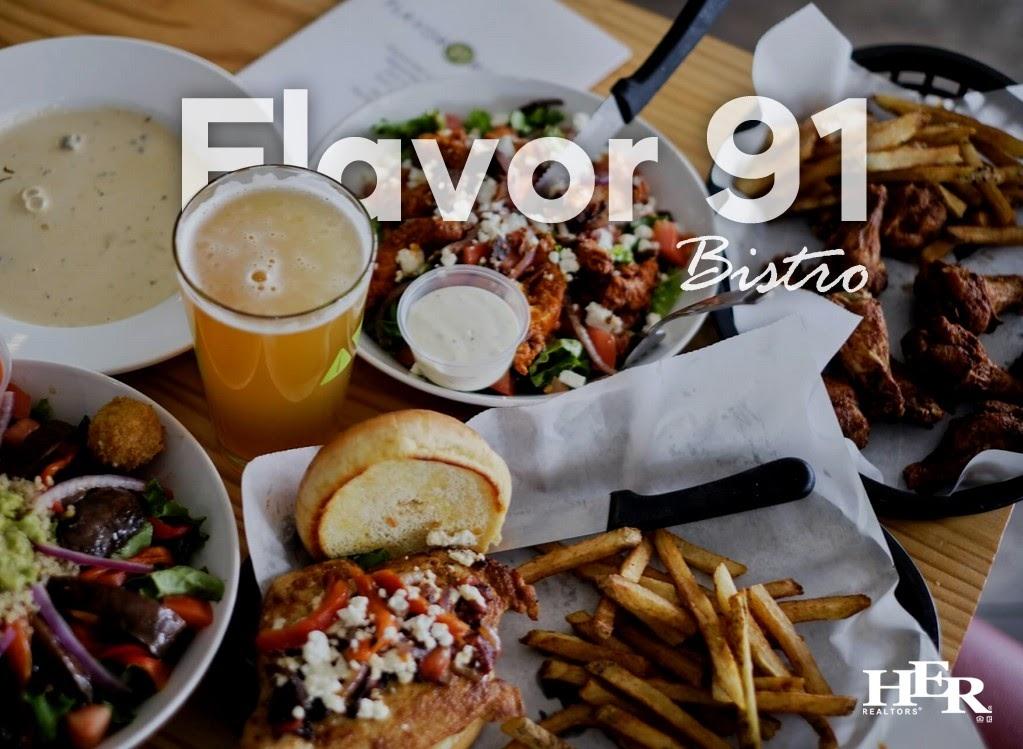 Flavor 91 menu