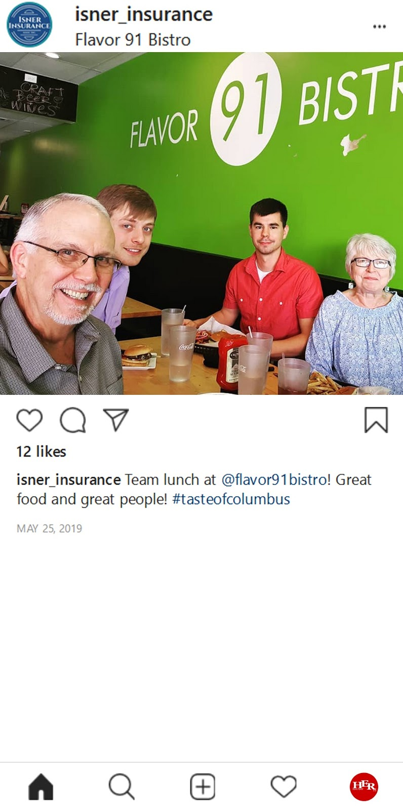 Flavor 91 Instagram