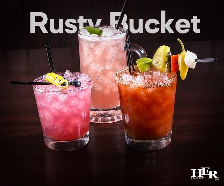 Rusty Bucket Cocktails