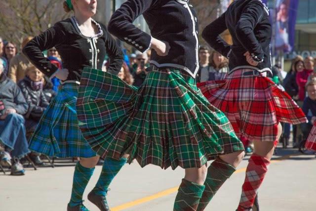 Dancers at the Cincinnati Celtic Festival