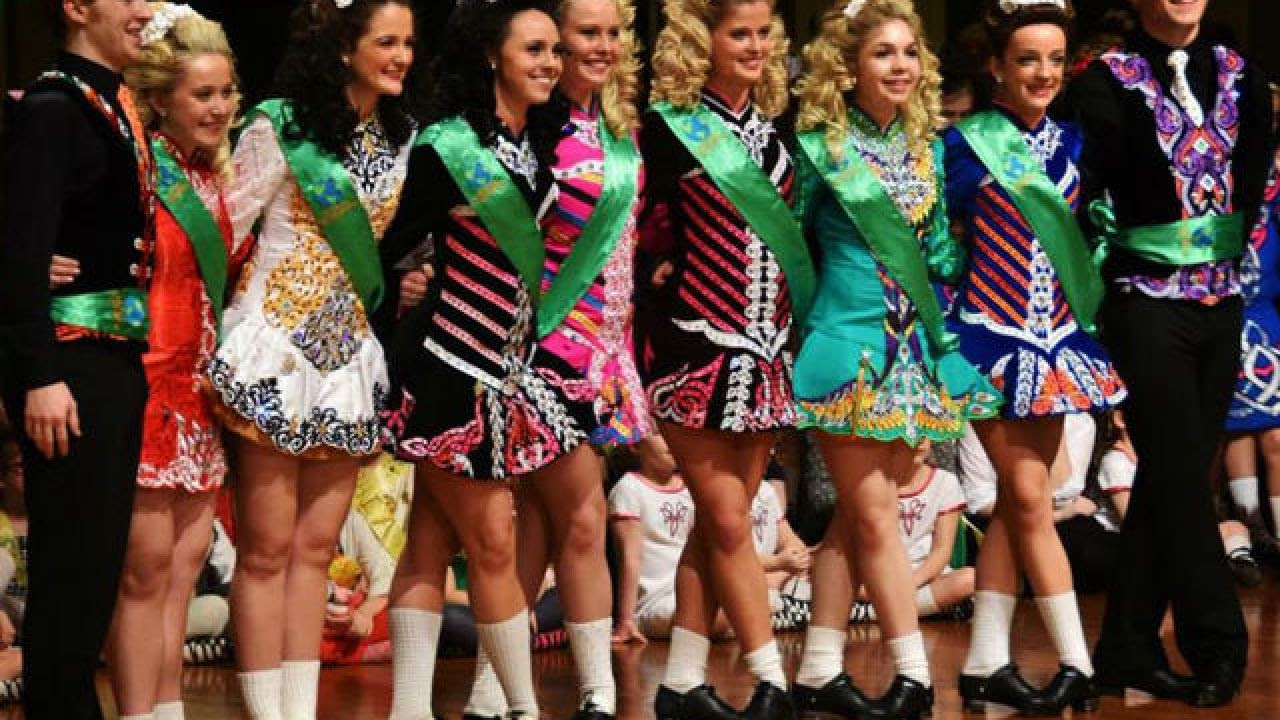 McGing Irish dancers celebrate their accomplishments
