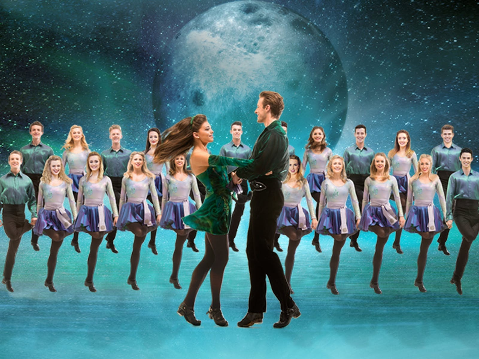 Cast of dancers who perform in Riverdance