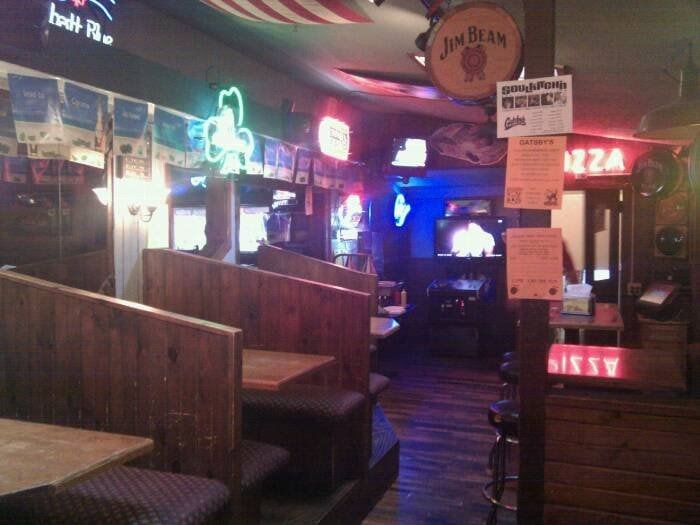 Photo of Gatsby's - Gahanna, OH, United States. upstairs booths