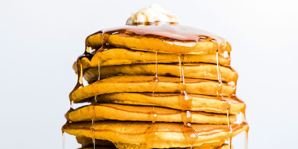 An image of the fluffy pancakes served at First Watch.