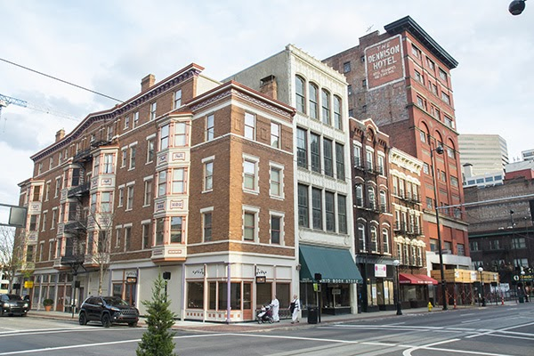 historic buildings in the Oregon District