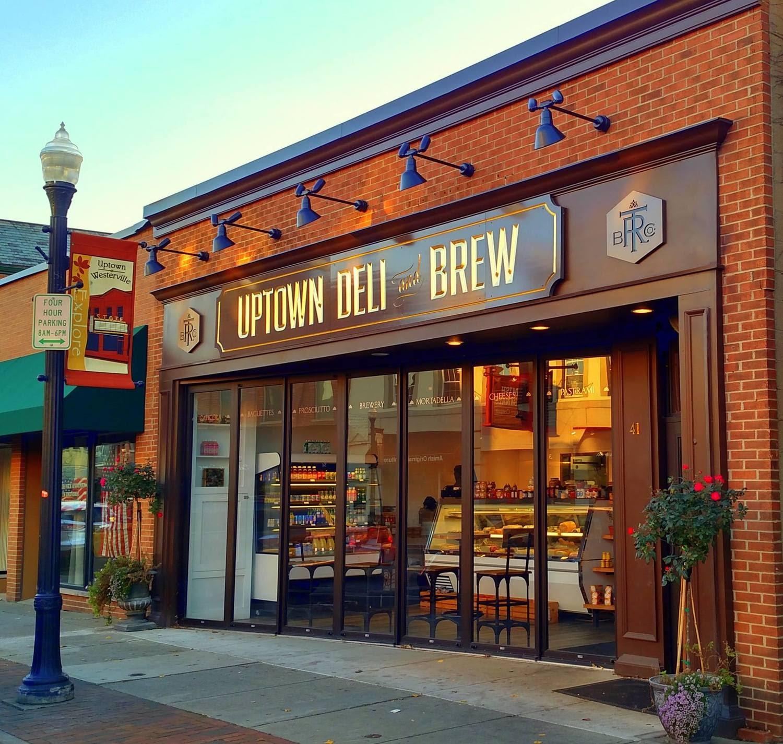 uptown deli and brew classy exterior