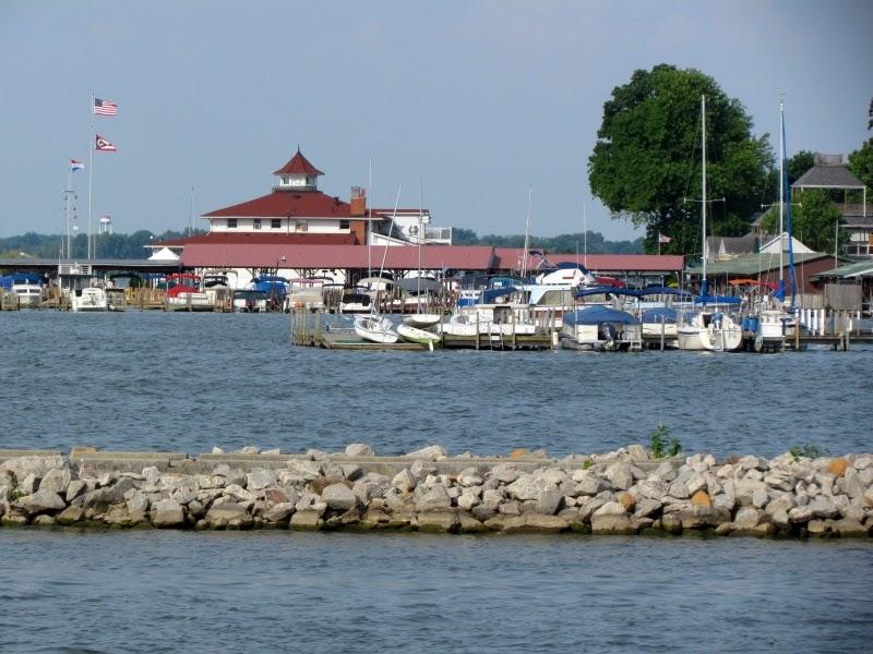 marina on the lake