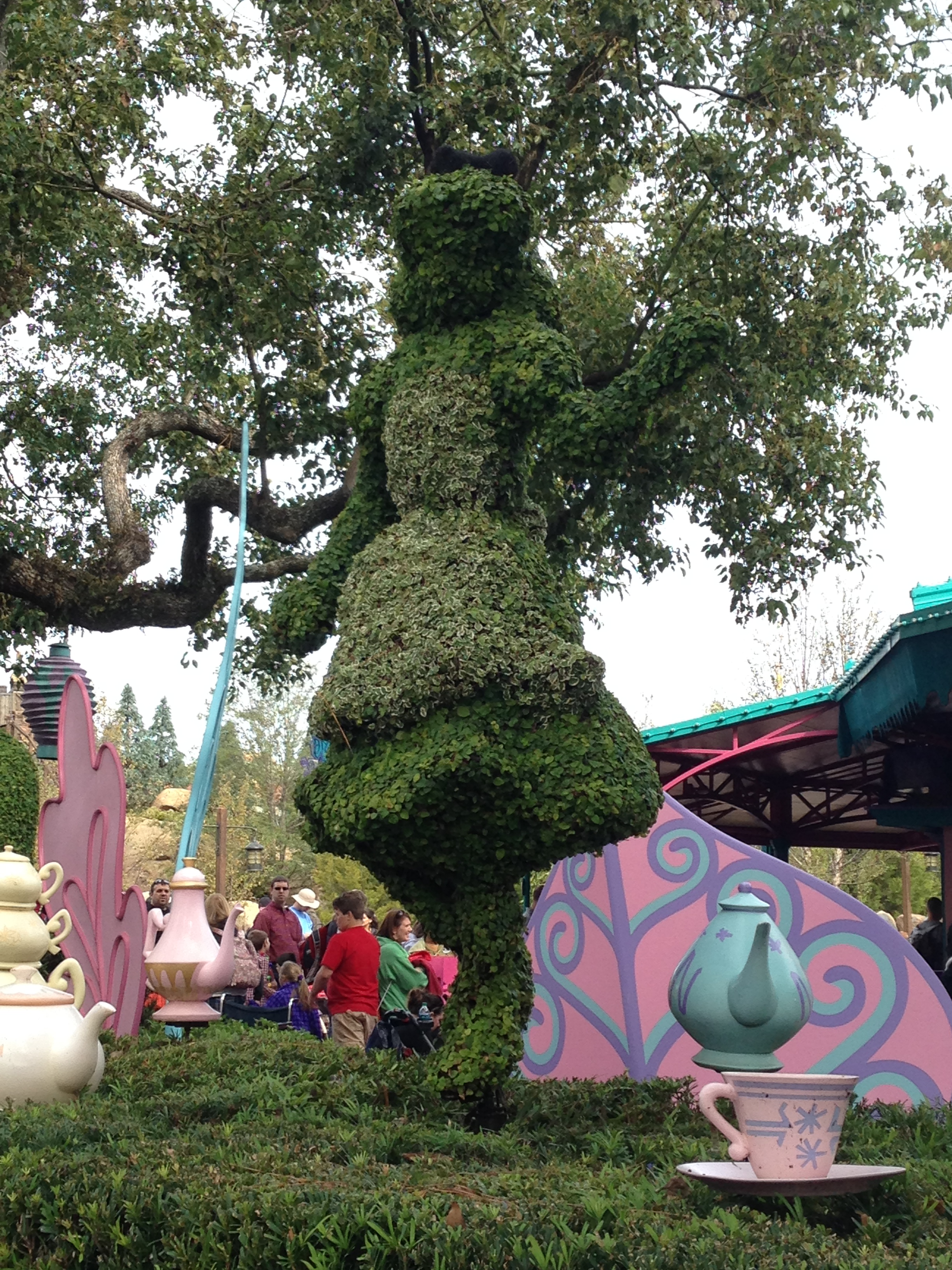 Horticulture & Floriculture Inspired by Disney Park