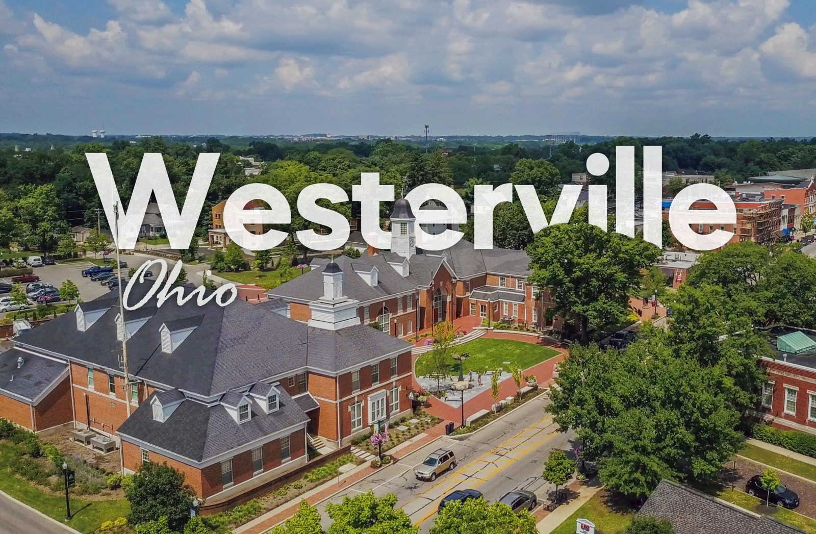 westerville town logo