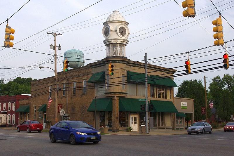 File:Clock tower - Plain City, Ohio.jpg
