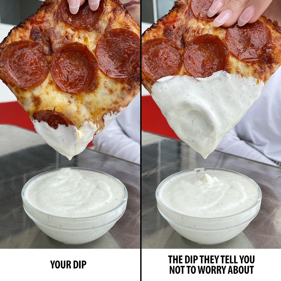 A pizza meme posted on Jet's pizza's Facebook page.