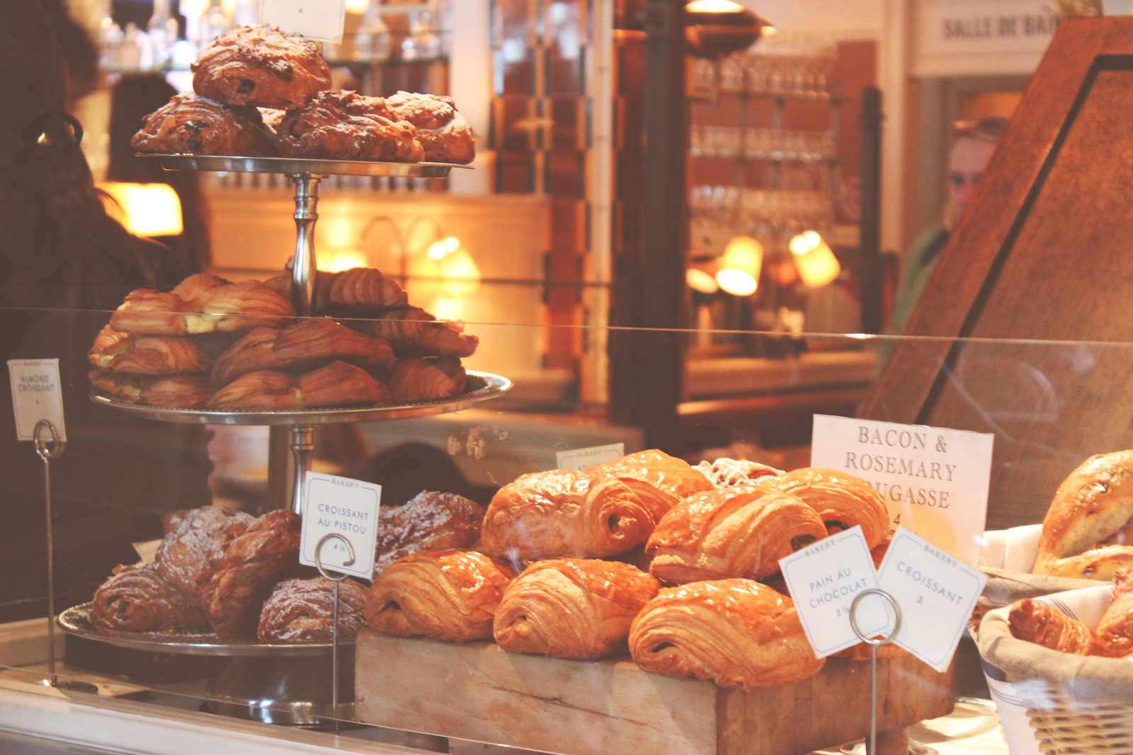 An image of delicious bakery products.