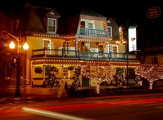 The Worthington inn aged over 185 years old!
