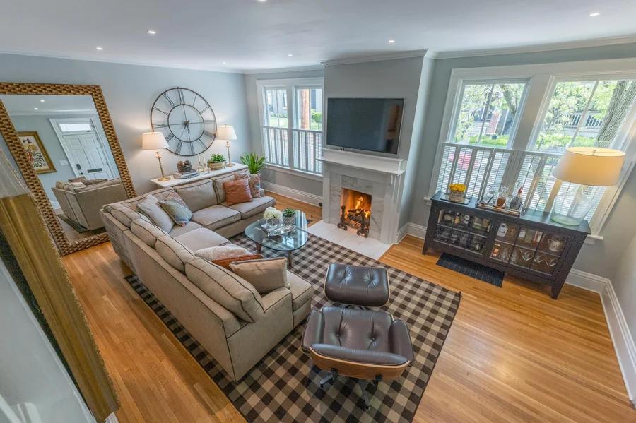 799 Jaeger Street Living Room
