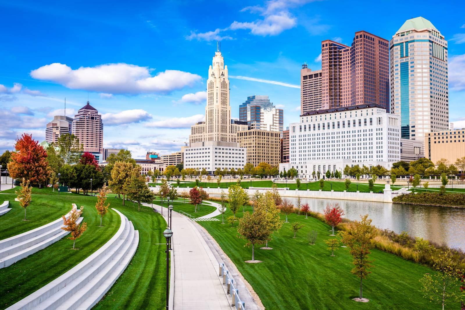 Columbus and Dayton