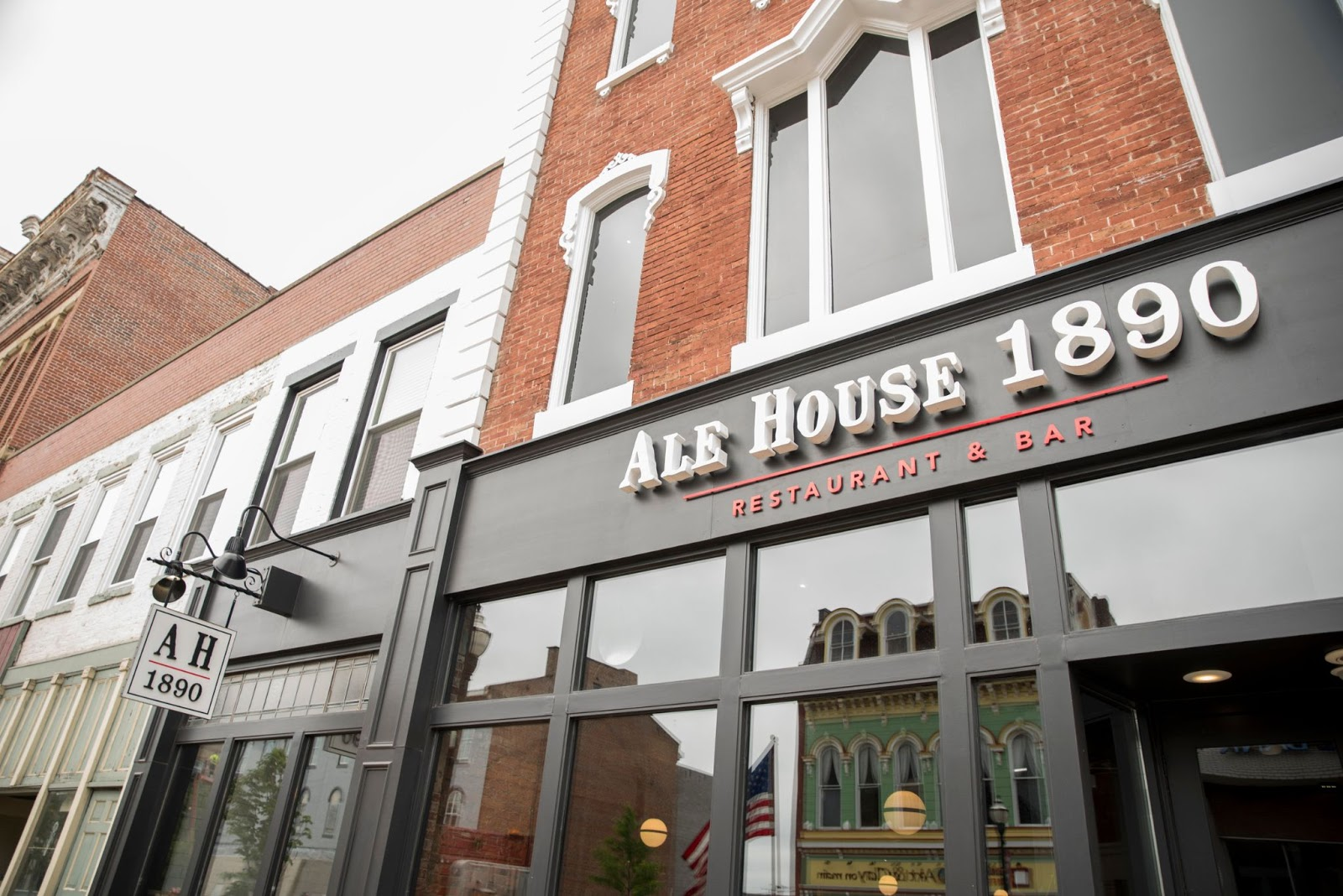 Outside of Ale House 1890.