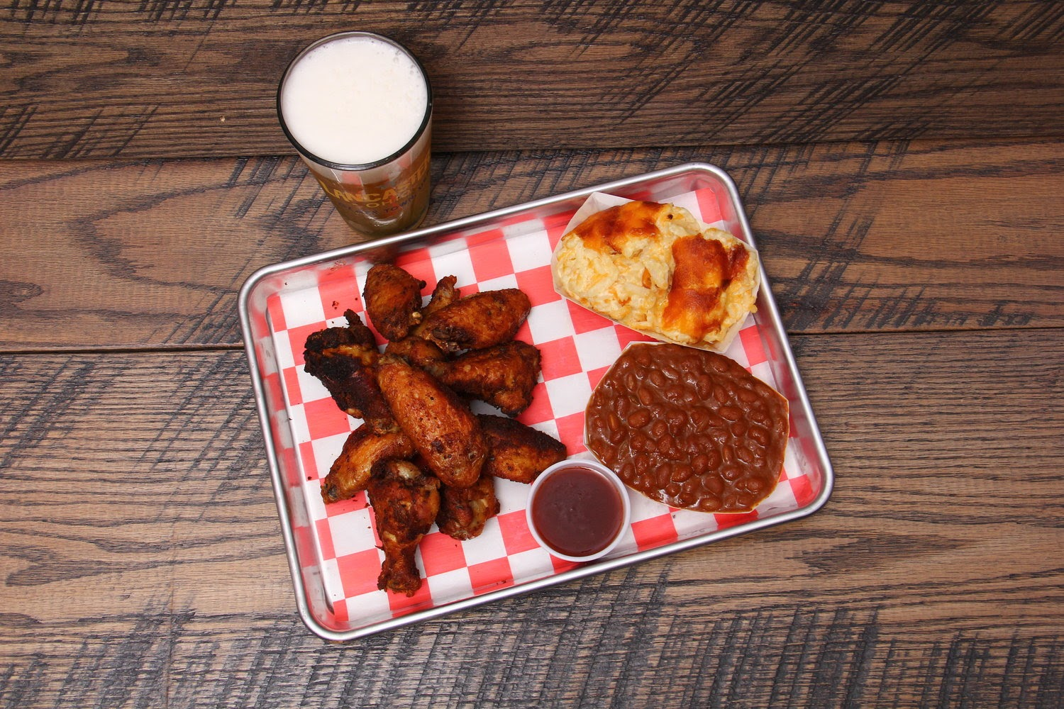 An appetizing plate you can grab at Bob's Backyard Barbeque.