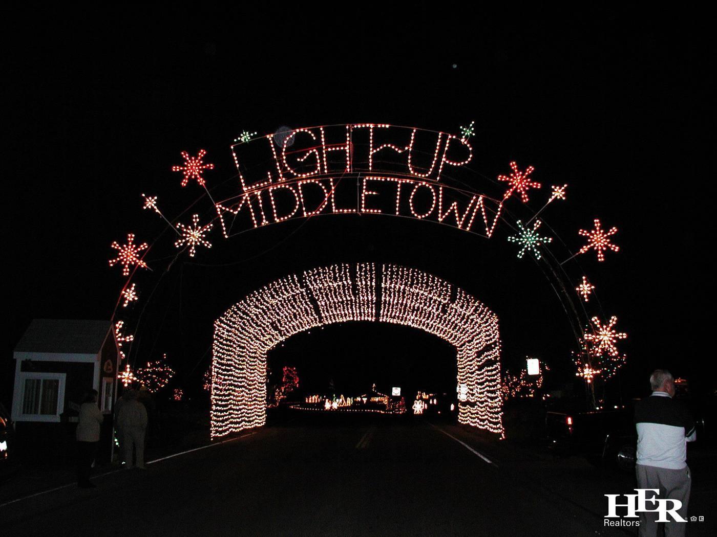 Middletown's holiday season lights