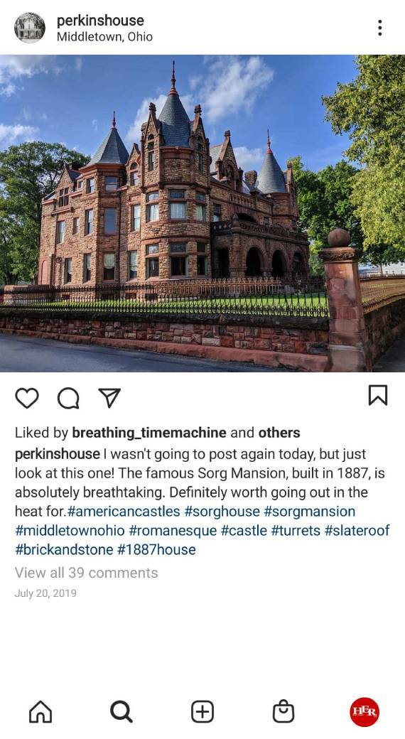 The Famous Sorg Mansion