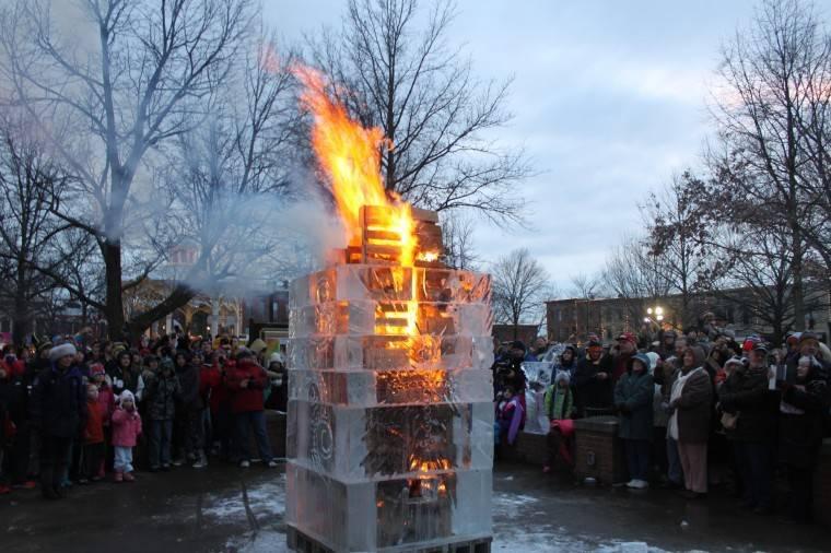 Bonfire ON ICE!