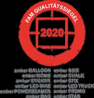 FAM Qualitätssiegel 2019