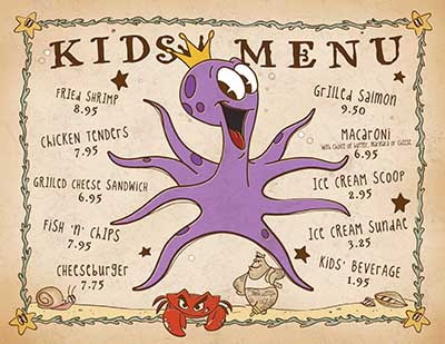 thumbnail of Kid's Menu