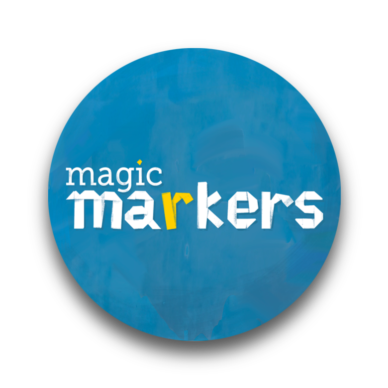 Logo Magic Markers - Comunicación explicativa