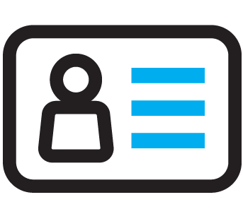 Routing and Account Number Icon