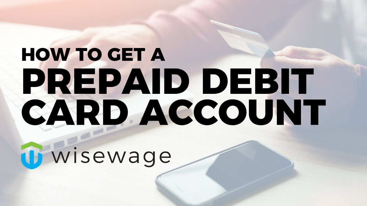 How to sign up for a prepaid debit card account