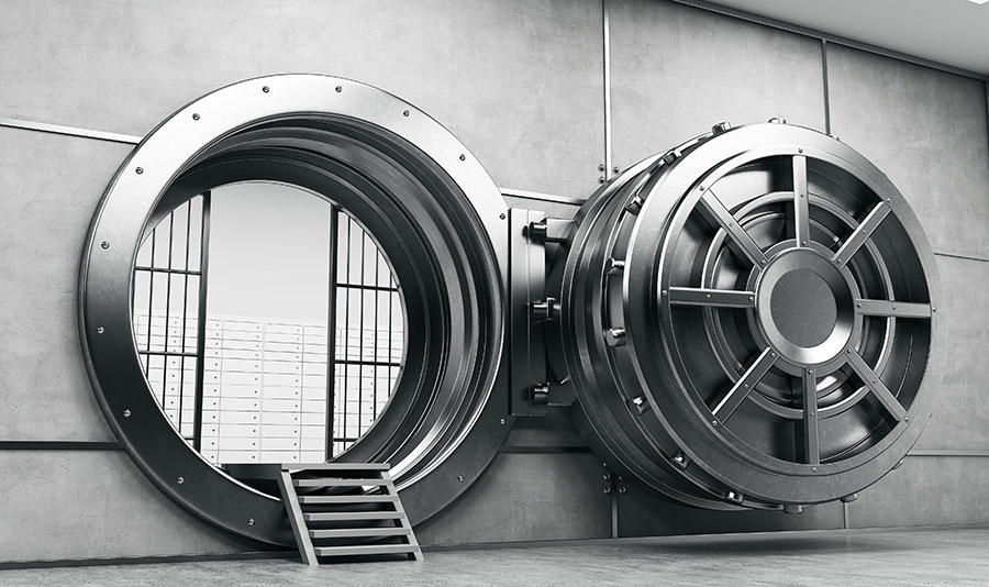 vault preventing people from getting a bank account