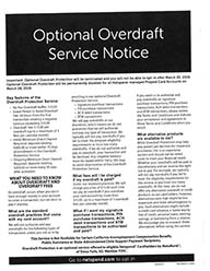 NetSpend Announcement to end overdraft