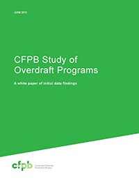 CFPB Report on Overdraft Programs