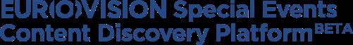 EUROVISION Special Events Content Discovery Platform (BETA)