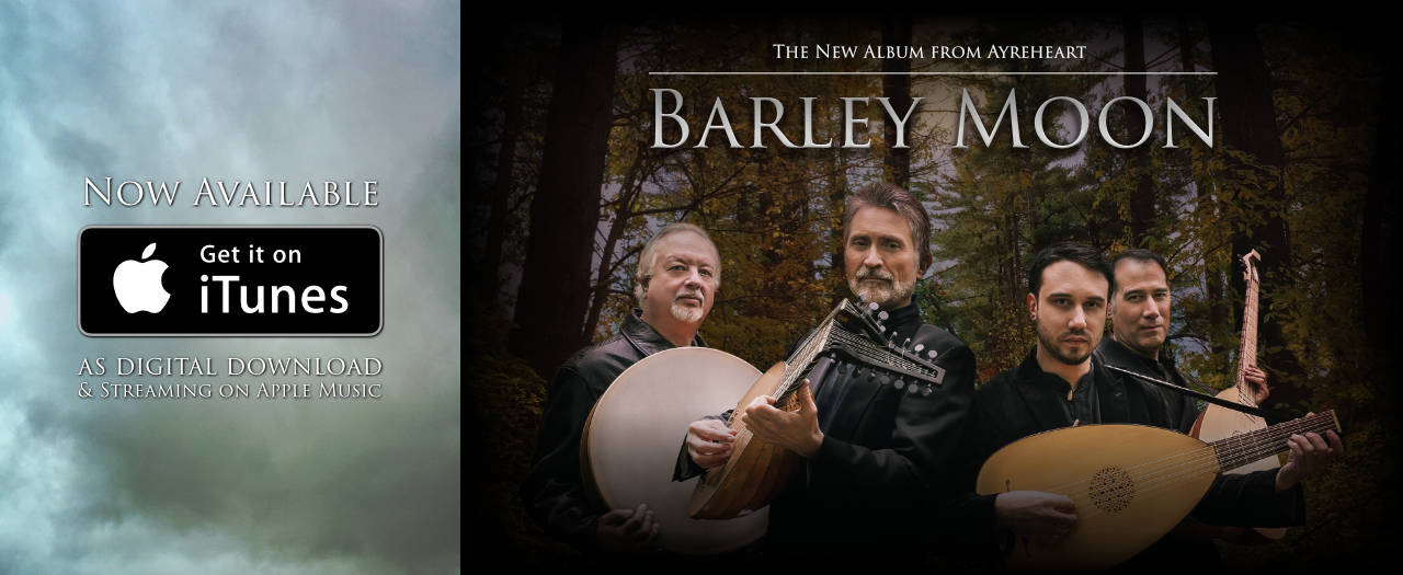 Barley Moon now available on iTunes and Apple Music