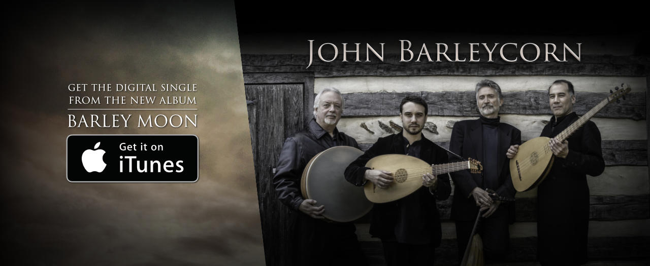 John Barleycorn digital single available on iTunes
