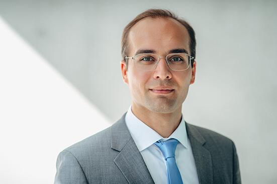 Portrait of CEO Phillipp Cavadini