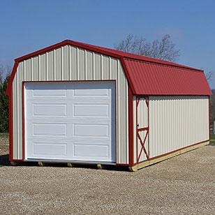 Tan garage