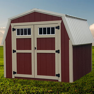 Red mini barn