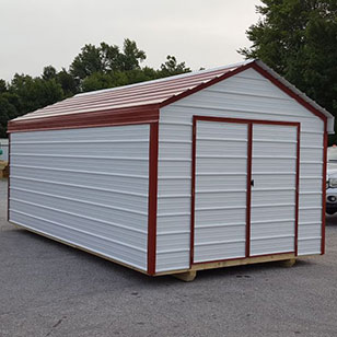 White value shed